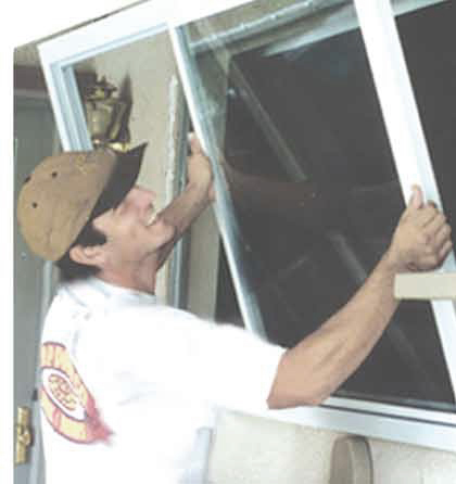 Installing milgard retrofit window