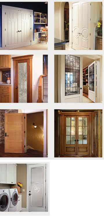 simpson-int Interior Door With Window Insert