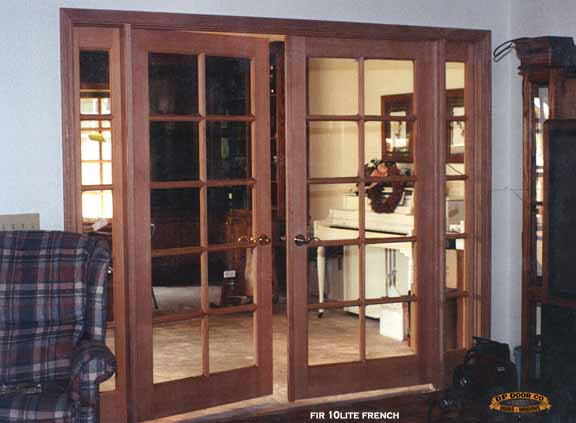 interior french door 8u0027 with sidelites between rooms