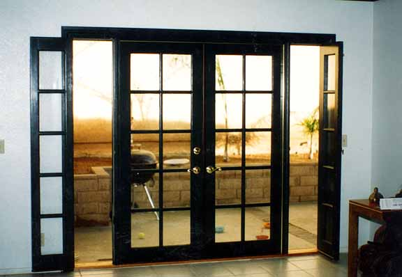 Front entry doors french doors patio doors milgard sliding for Replacement french doors