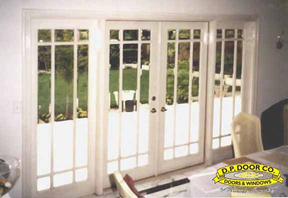 10u0027 French Doors With Marginal Grid And Beveled Glass