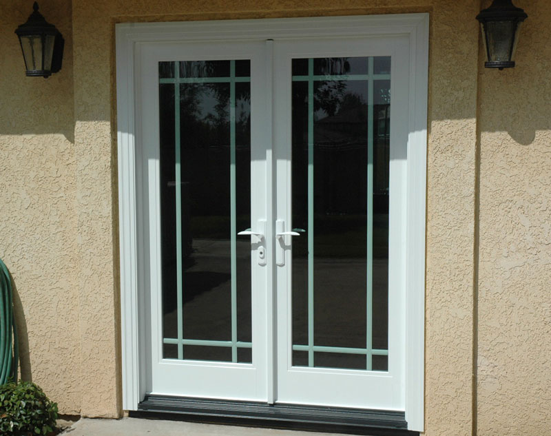 French doors exterior for Exterior front double doors